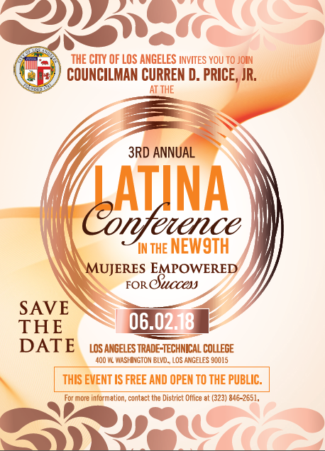 Latina Conference June 2, 2018 Flyer