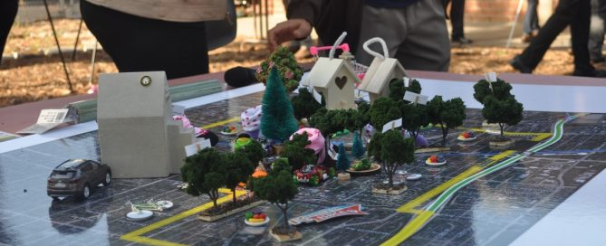 Town diorama