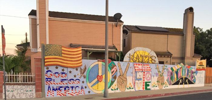 God Bless America Mural