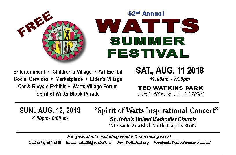 Watts Summer Festival