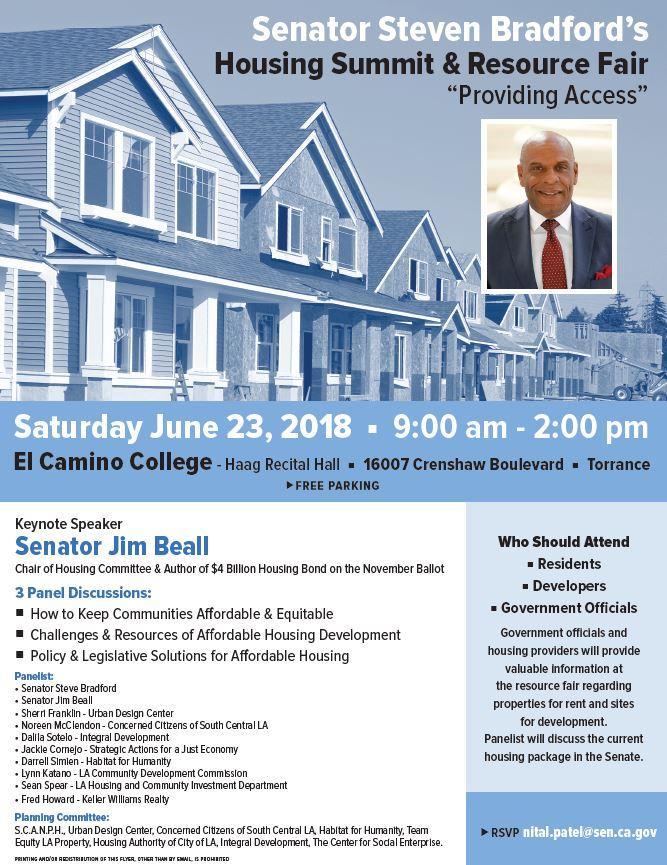 Housing summit and resource fair