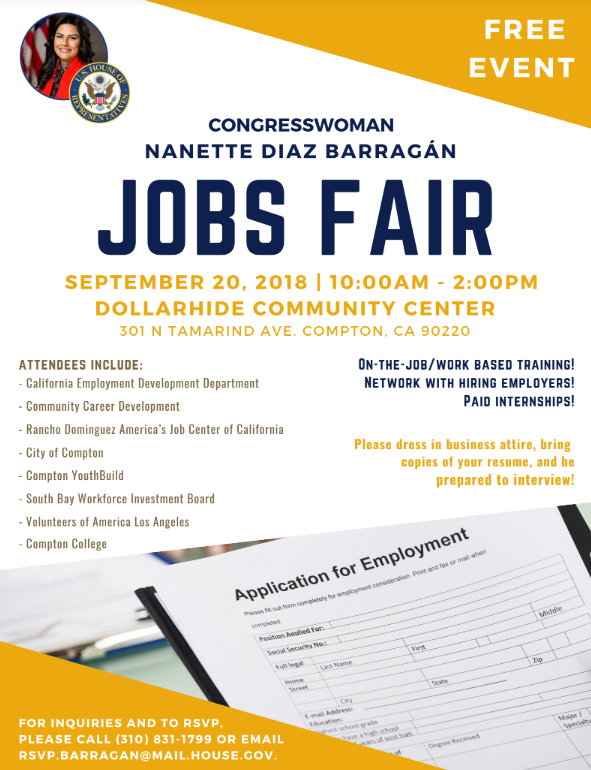 Job Fair in Compton