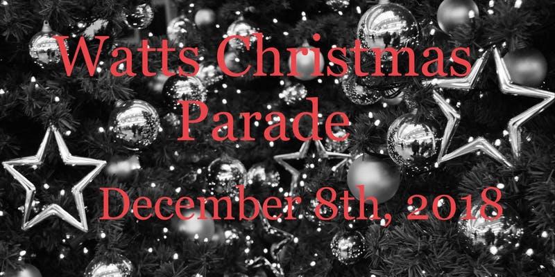 53rd Annual Watts Christmas Parade
