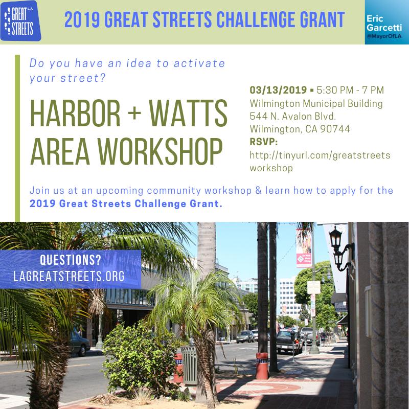 Watts Great Street Workshop