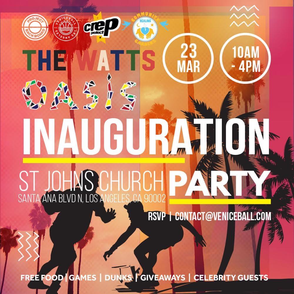 The Watts Oasis Inauguration