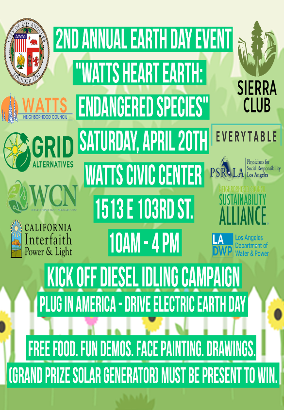 Watts Earth Day