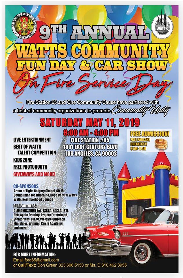 Watts Fire Service Day