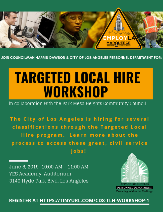 Local Hire Workshop