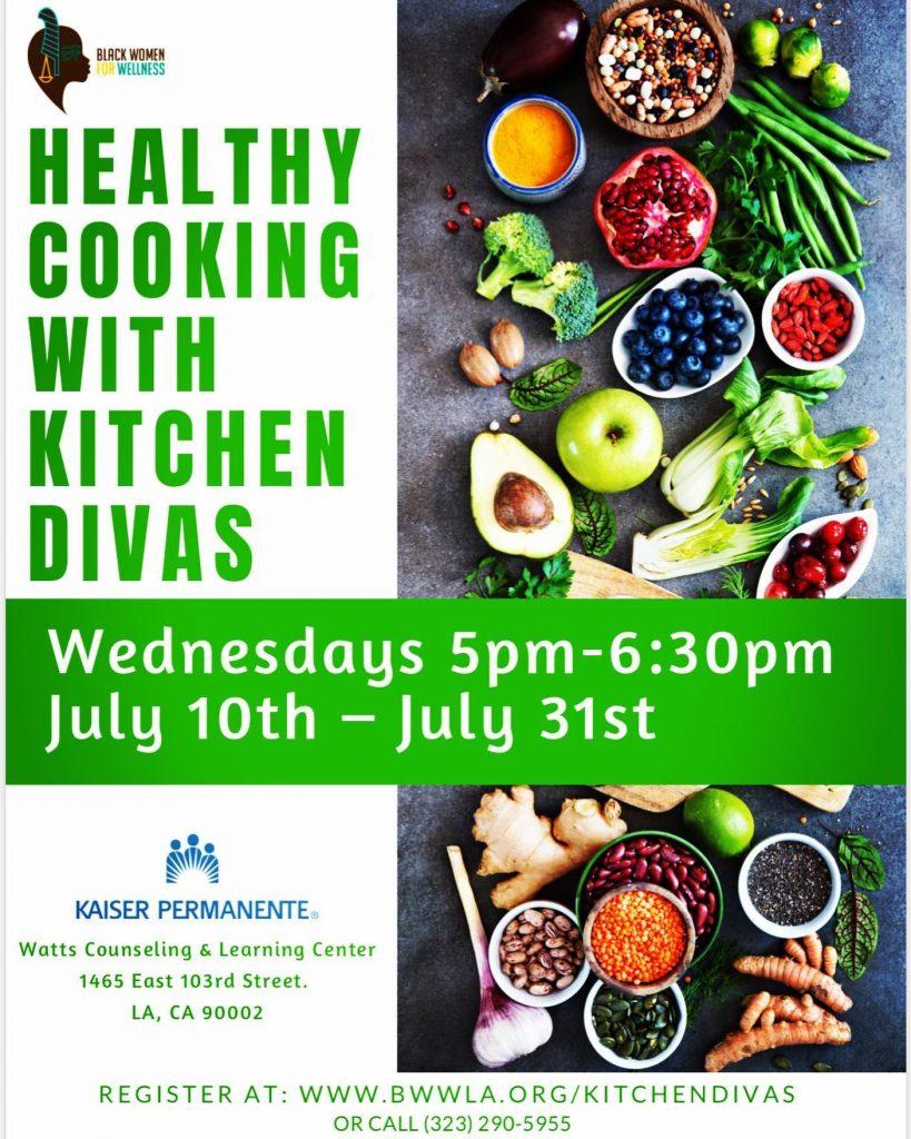 Healthy cooking with kitchen divas