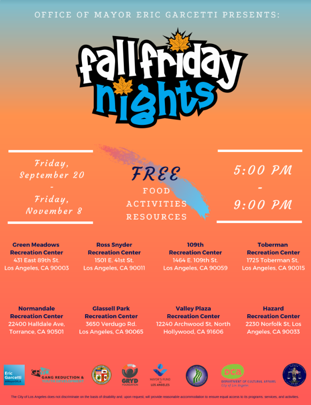 Fall Friday Nights
