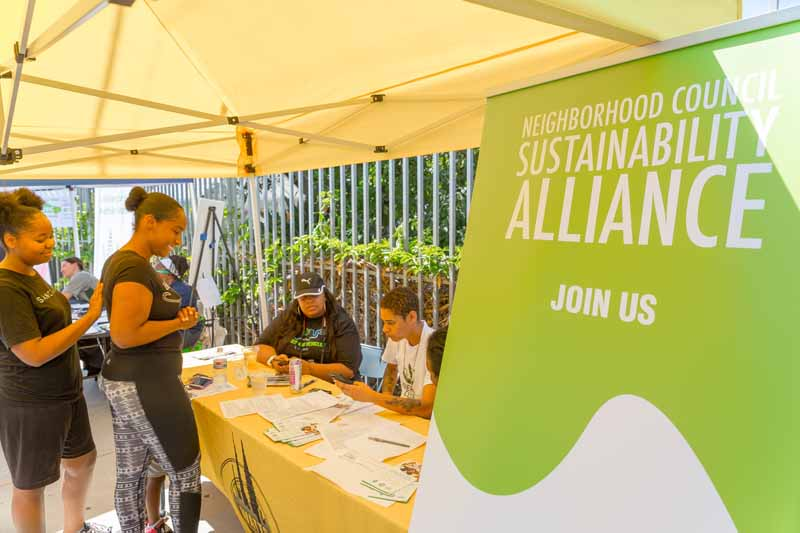 Sustainability Alliance table