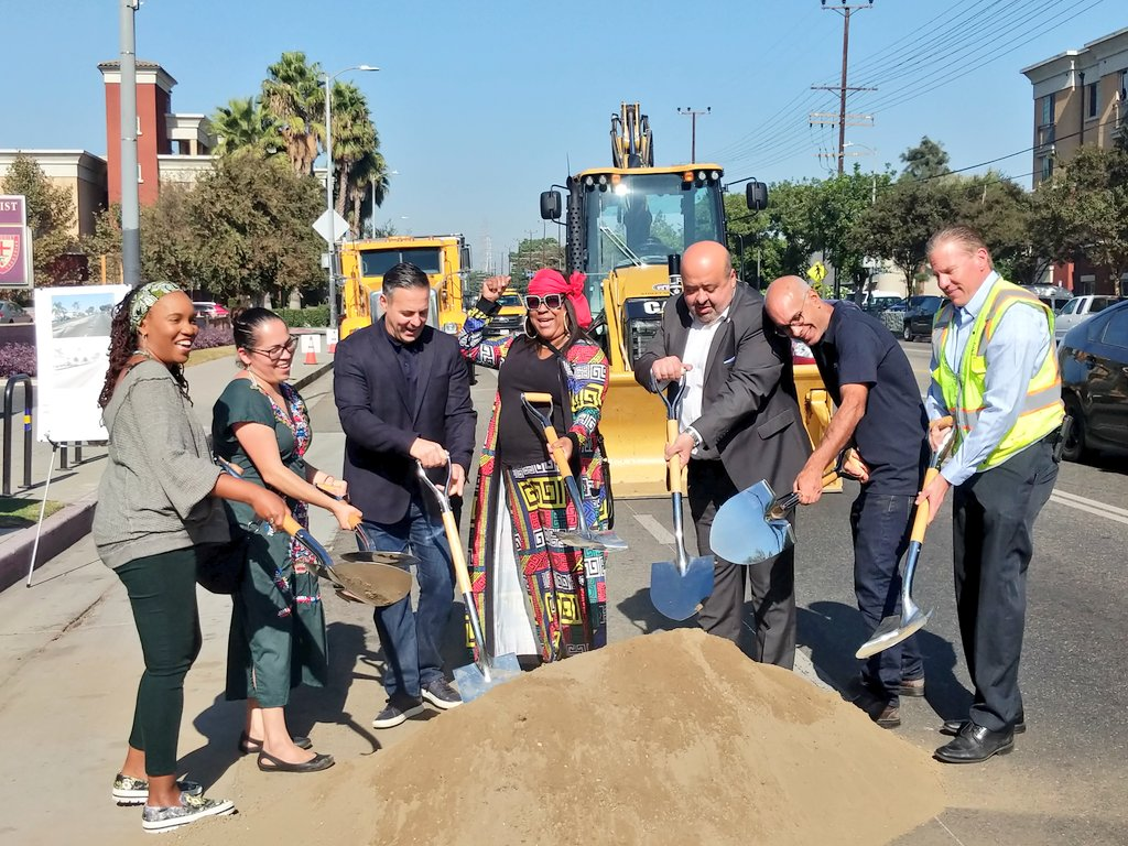 Central Avenue Streetscape Groundbreaking