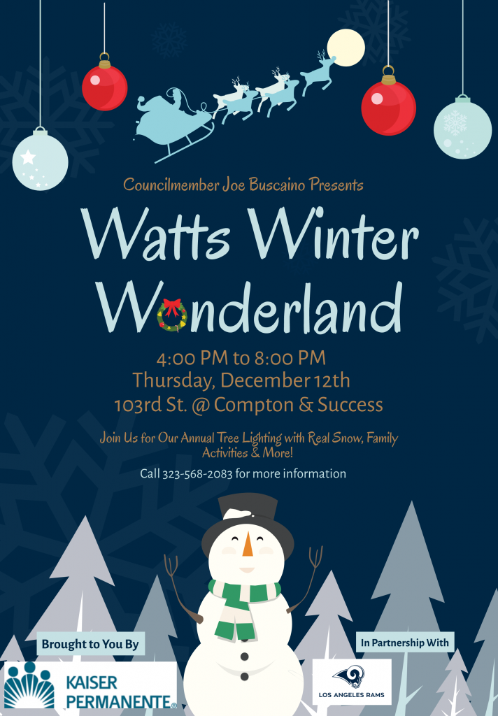Watts Winter Wonderland