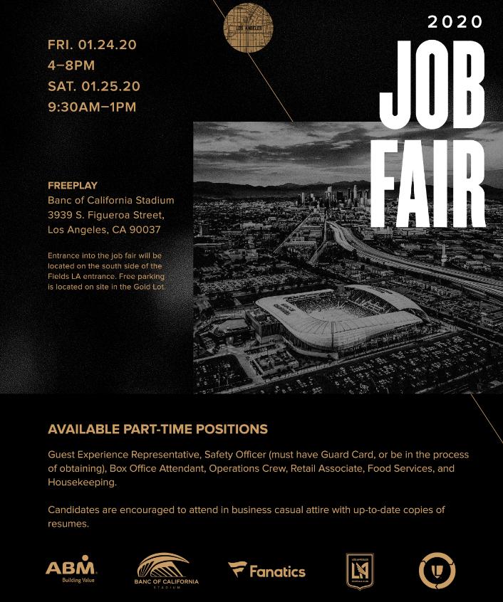 Banc of California Stadium Job Fair