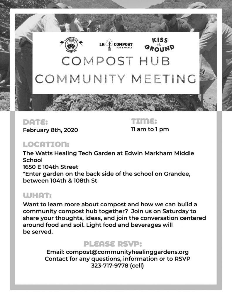 Compost Hub Event