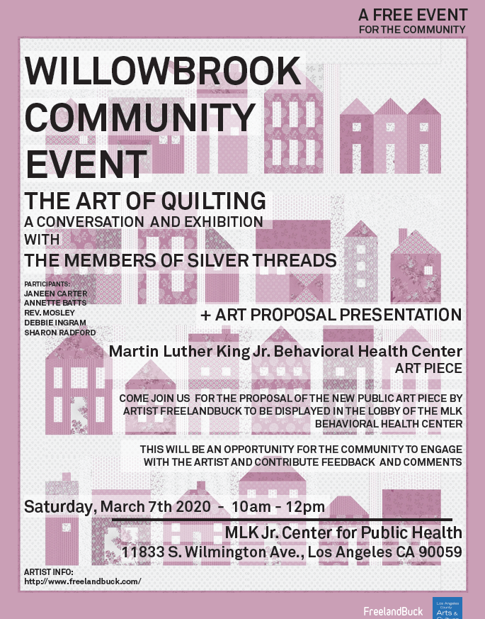 Willowbrook Community Event: The Art of Quilting
