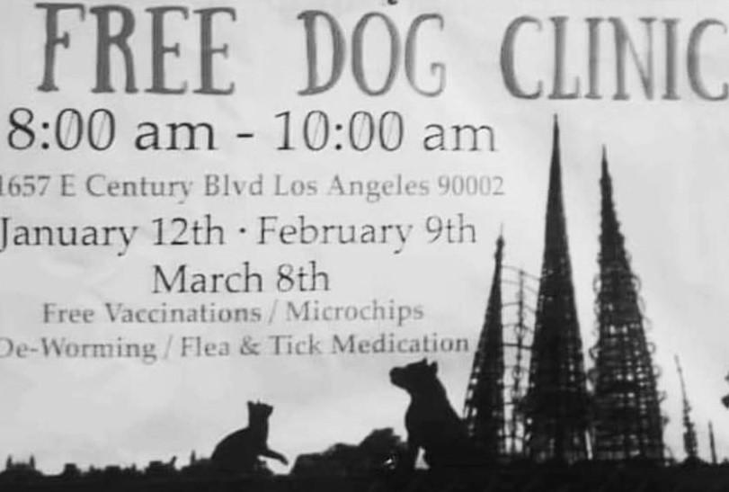 Free dog clinic
