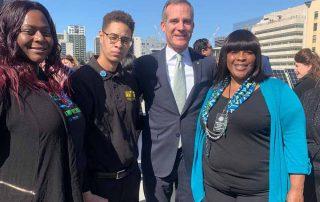 Watts Neighborhood Council with Mayor Garcetti