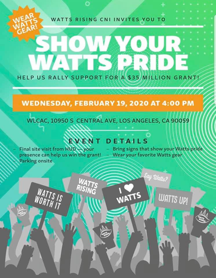 Show your Watts Pride