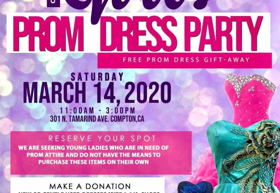 Prom Dress Gift Away