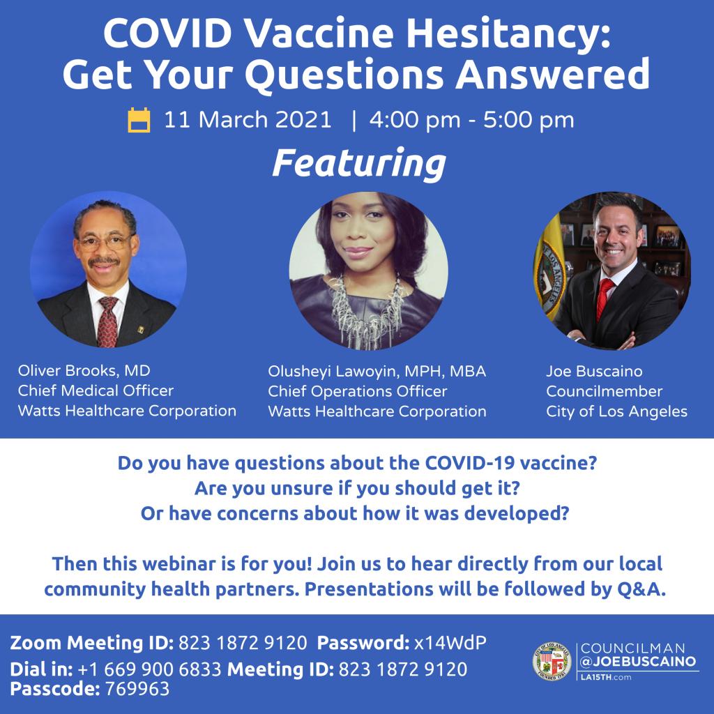vaccine hesitancy workshop