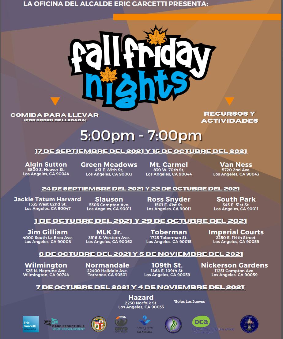 Fall Friday Nights