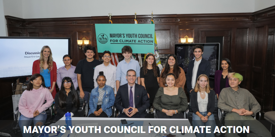 mayors youth council for climate action