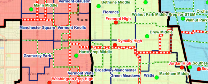 LAUSD District Map